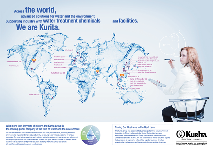Magazine Advertisement:GLOBAL WATER INTELLIGENCE MAGAZINE
