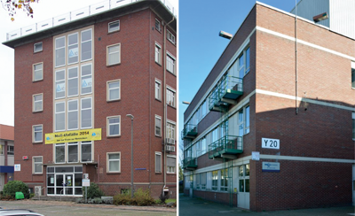 Photograph: Our two development centers in Germany